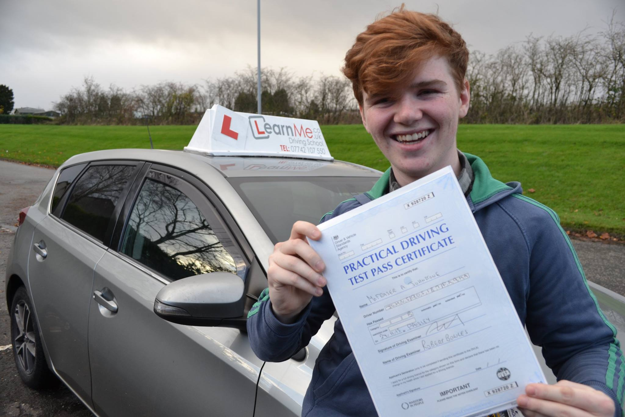 Linwood driving school pass