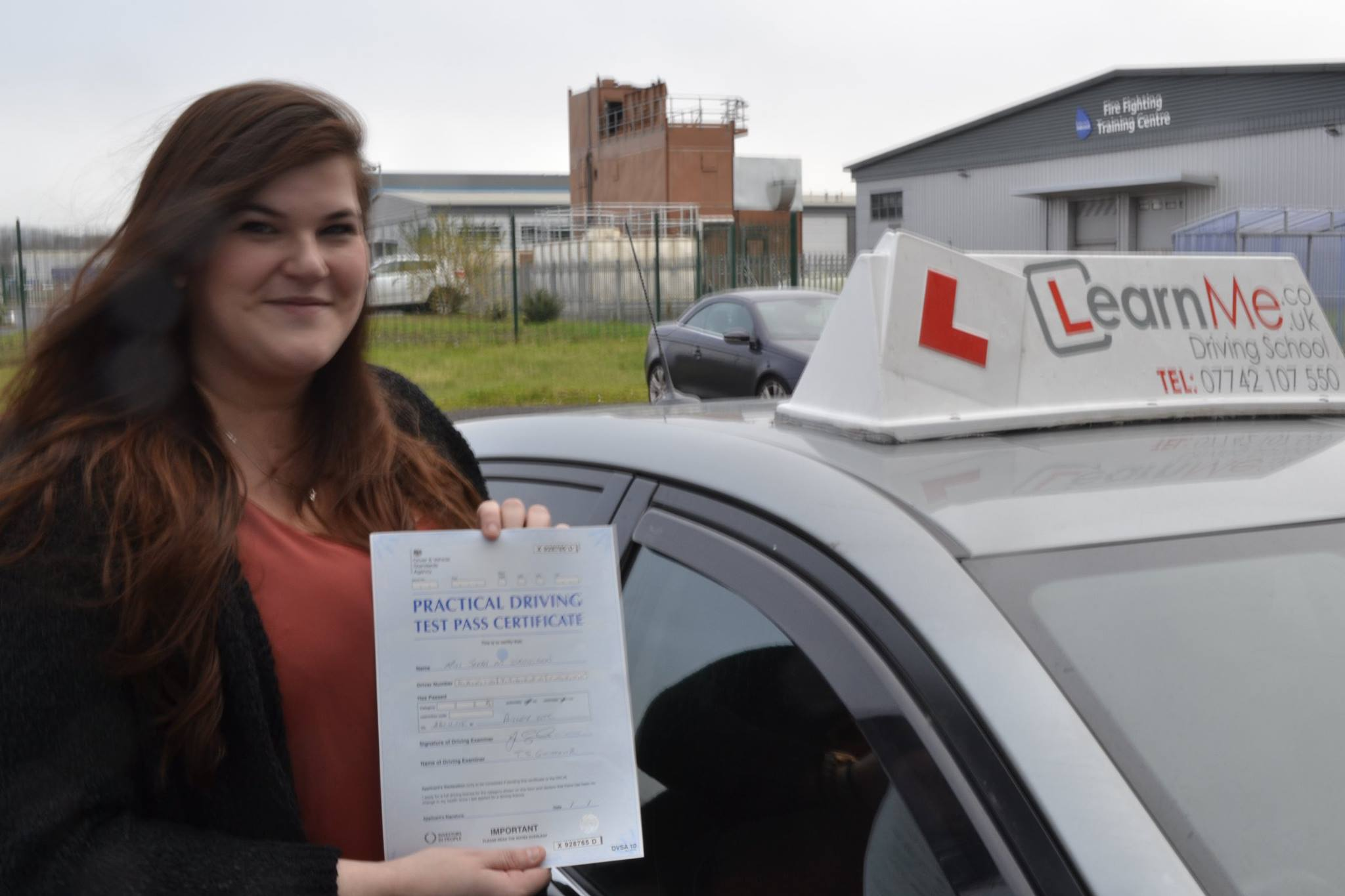Paisley driving school pass