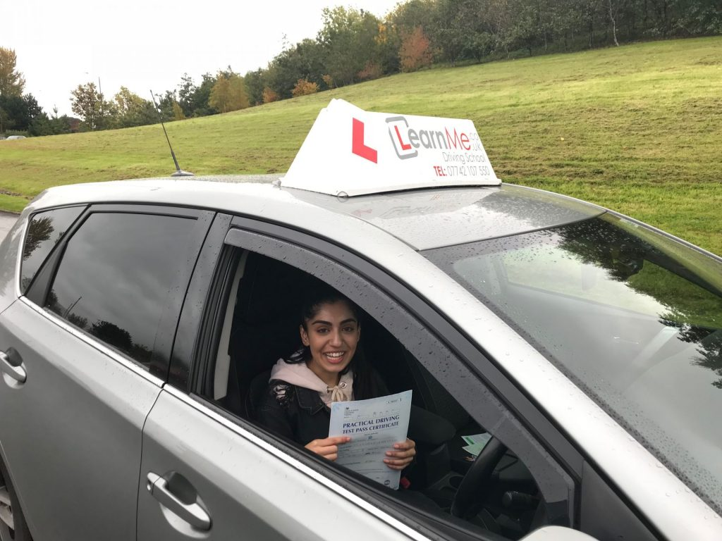 Paisley driving test pass